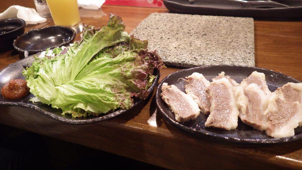 石垣島 焼き肉やまもと 塩バラ