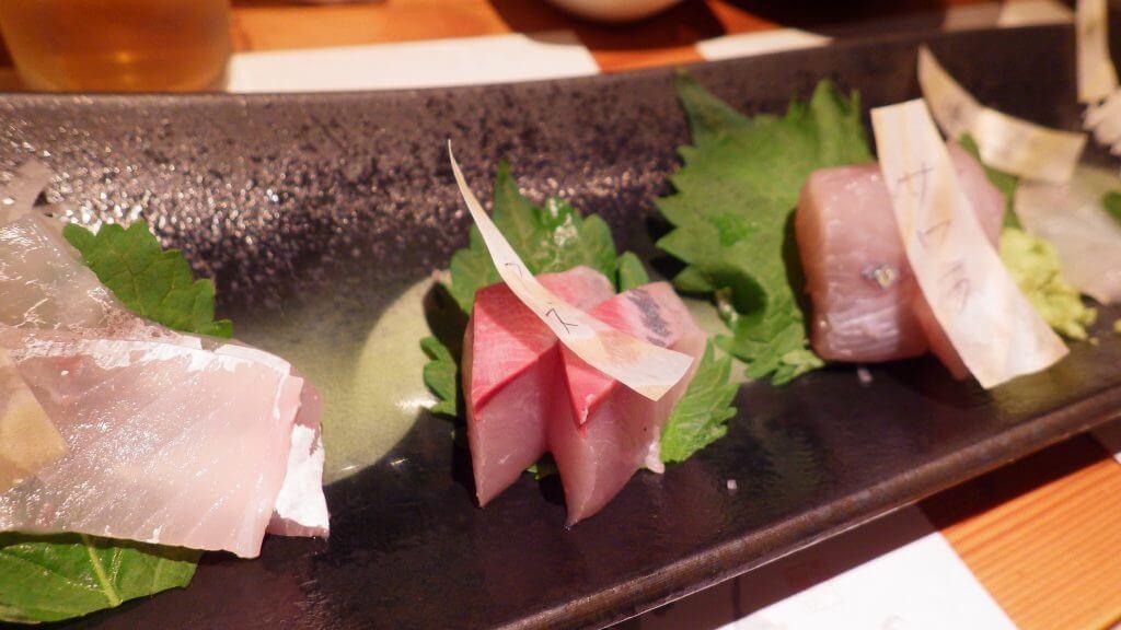 魚のまるた 刺身