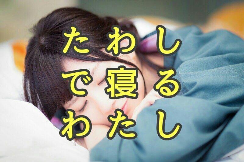 熟睡用たわし枕