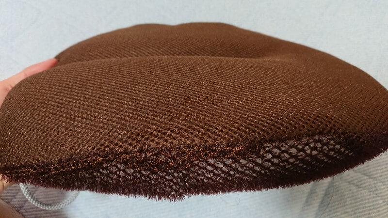 たわし枕 の特徴