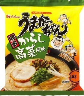 うまかっちゃん博多辛子高菜風味