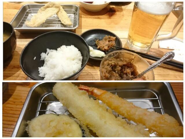 天ぷらたかお 明太子食べ放題